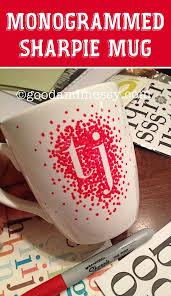 diy sharpie mug easy diy gift ideas for birthdays boyfriends