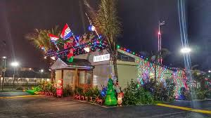 Ocean City Christmas Lights Inlet The Seacrets Liquor Store In Ocean City Is Ready For The
