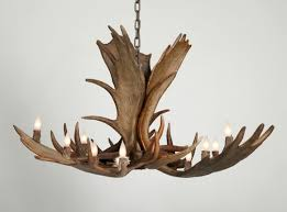 moose antler chandelier