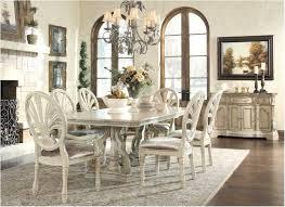 Antique White Dining Room Exterior Simple Decorating Design