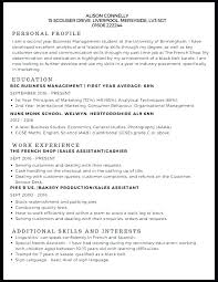 Us Resume Template Interesting Resume Templates Example Of A For Job Facile And On Examples First