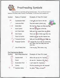 Proofreading Symbols Chart About Editing And Those Confusing Proofreaders Marks Neal