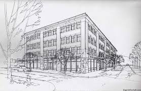 architecture buildings drawings. Beautiful Buildings Perspective Drawings Of Buildings Architectural Renderings  GARRETH SCHUH  ART U0026 ARCHITECTURE For Architecture H