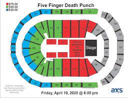 Five Finger Death Punch Infinite Energy Center