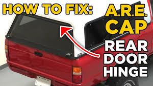 Leer Camper Shell Brake Light Replacement Truck Bed Are Cap Topper Rear Door Hinge Repair Fix Cheap