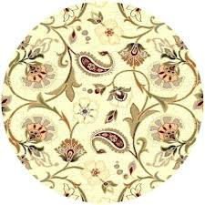 6 ft round rug. 6 Ft Round Area Rugs Rug Universal Ivory 5 Feet X 8 Foot