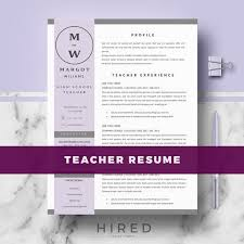 Resumes On Microsoft Word 2007 Teacher Resume Template Cv Template For Pages Ms Word