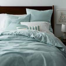 ... Belgian Flax Linen Quilt Cover + Pillowcases - Pale Harbour ...