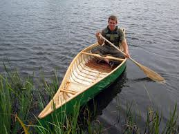 i cant put into words how satisfying it feels to step into and paddle a canoe you have made canoeing is the nearest thing to physical poetry that i know