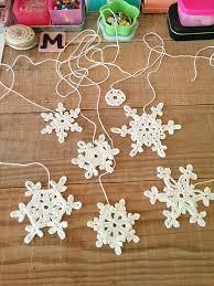 Crochet Snowflake Pattern Chart Lacy Snowflake Pattern Crochetobjet