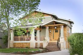 craftsman exterior by lawrence and gomez architects american craftsman style