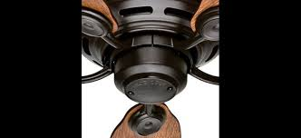 hunter 51061 low profile iv 42 inch new bronze ceiling fan with 5 weathered oak wine country blades