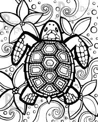 Small Picture Turtle Coloring Pages And For Adults glumme