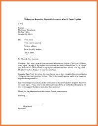credit report dispute letter template 59abc1b6be8b764c d ef