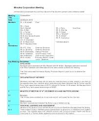 Excel 2010 Templates Template Form Word Corporate Meeting Minutes Actions Action