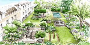 Small Picture Helen Thomas trained as a landscape designer and specialises in