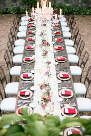 rectangular tables add e to your reception decor the