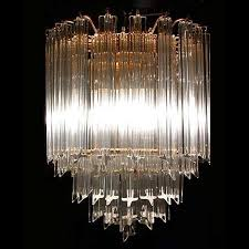1970 s murano venini crystal chandelier 13126
