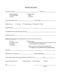 Expense Requisition Form Template Request Reimbursement