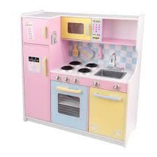 Pastel Kitchen Large Pastel Play Kitchen