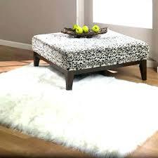 faux fur rug within snowy white polar bear rectangular sheepskin 3 ideas round with target area large faux fur rugs