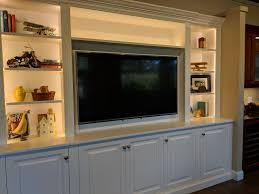 Lighted Entertainment Center Get Ready To Entertain Your Friends With A Custom Built