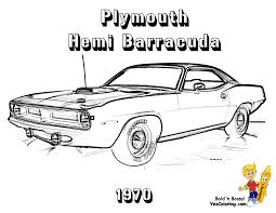 1970 Plymouth Hemi Barracuda 4 Speed