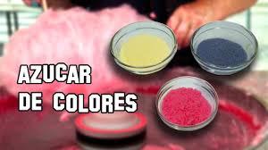 Recetas De Cocina Como Hacer Az Car De Colores Para Algod N
