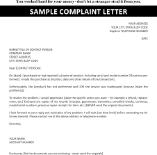 how to write a complaint letter to a company sample letters sample complaint letter premium templates forms