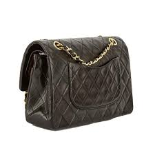 Chanel Black Quilted Lambskin Leather Medium Double Flap Bag (Pre ... & Chanel Black Quilted Lambskin Leather Medium Double Flap Bag (Pre Owne -  3706001 | LuxeDH Adamdwight.com