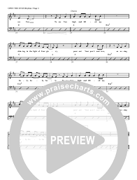 Open The Eyes Of My Heart Rhythm Acoustic Guitar Chart G3