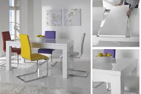 endearing white gloss dining table and chairs white high gloss kitchen table and chairs seniordatingsitesfree