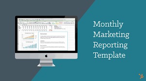 Facebook Outline Template Monthly Marketing Reporting Template Free Download