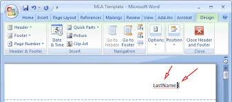 Mla Format How To Mla Format Microsoft Word 2010 Mla Format