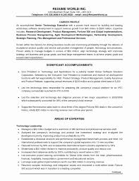 Service Industry Resume Examples Best of Resume Format For Customer Service Executive Lovely Executive