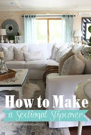 how to make a sectional slipcover step by step with confessions of a