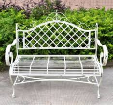 white iron garden furniture. White Iron Garden Furniture