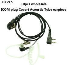 icom microphone wiring online shopping the world largest icom 10pcs f plug covert acoustic tube bodyguard fbi earpiece headset 2 pin whole for icom