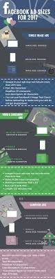 facebook max video size facebook ad sizes august 2017 update ad guide infographic