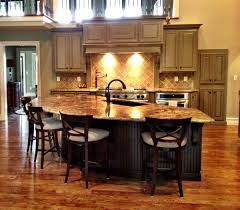 Open Kitchen And Living Room Designs Open Kitchen Design Christmas Bar Stool Decor Idea As Wells As