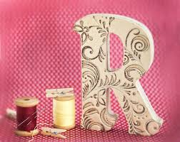 decorative wooden letters beauteous best painted ideas hand wall