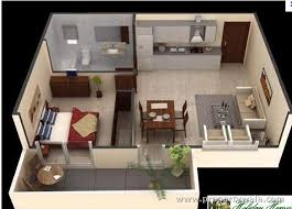 Delightful One Bedroom Apartment Design With Nifty One Bedroom Apartment Design  Digihome Minimalist