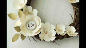 Paper Flower Cutting Tools Cutting Paper Flowers With Your Cricut Youtube