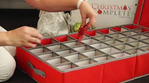 Christmas Decorations Storage Box Christmas Ornaments Storage Box YouTube 49