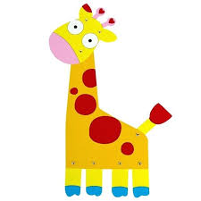 giraffe drawing draw kids paper craft paint animal cute giraffe deer painting cardboard decoration educational drawing