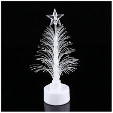 Led Light Up Christmas Tree Us 1 55 29 Off Hot Colored Fiber Optic Led Light Up Mini Christmas Tree With Top Star Battery Powered Lsf99 In Trees From Home Garden On
