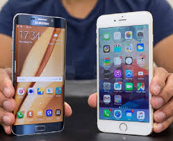 samsung galaxy s6 vs iphone 7. (5) samsung s6 edge plus iphone 7 1 galaxy vs n