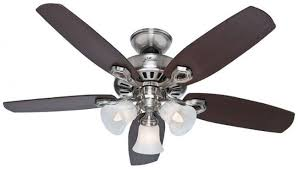 hunter 52106 42 inches indoor ceiling fan 5 reversible blades and light kit included in brushed nickel