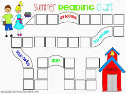Summer Reading Chart Free Printable I Am Going To Do This