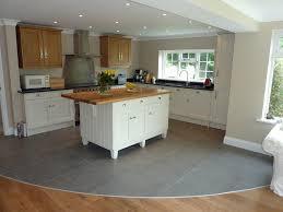Wood Prestige Roman Arch Door Suede Grey Free Standing Kitchen Islands With  Seating Backsplash Cut Tile Ceramic Sink Faucet Lighting Flooring Limestone  ...